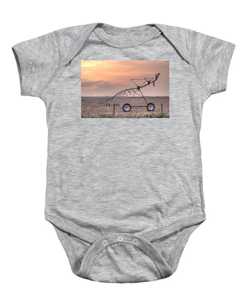 Hdr Sunset With Pivot Baby Onesie