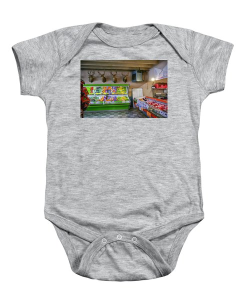 Heads Of State Baby Onesie