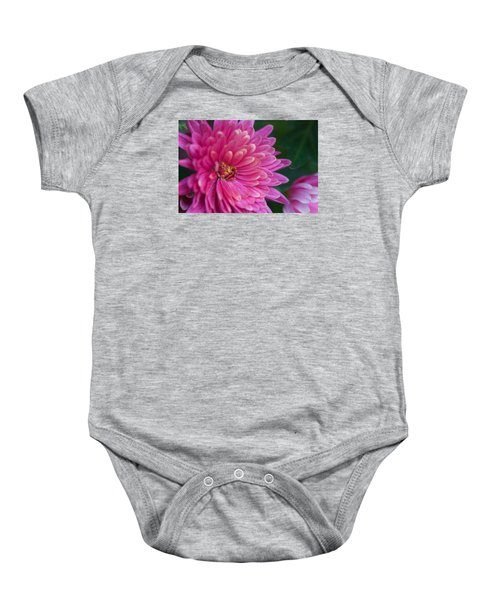 Heart Of A Mum Baby Onesie