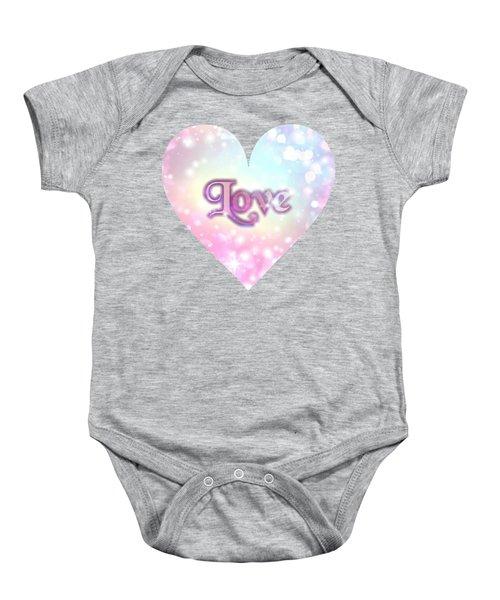 Heart Of Love Baby Onesie