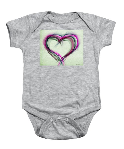 Heart Of Many Colors Baby Onesie