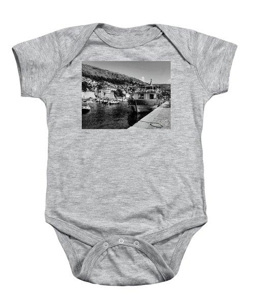 Heart Of The Harbour Baby Onesie