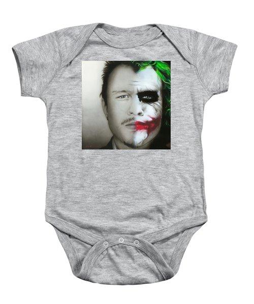 Heath Ledger / Joker Baby Onesie