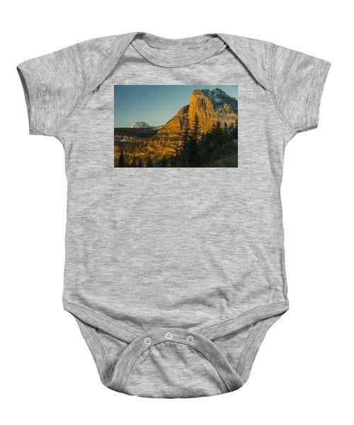 Heavy Runner Mountain Baby Onesie