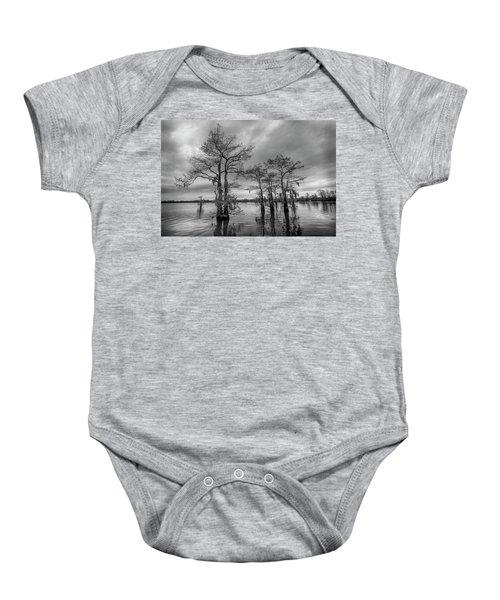 Henderson Swamp Wetplate Baby Onesie