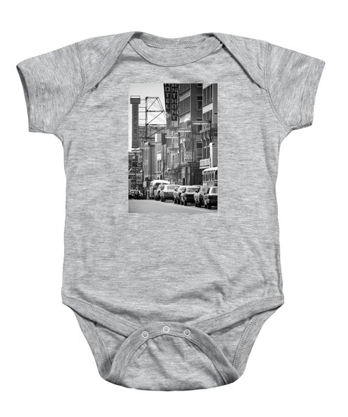 Hennepin And The Orpheum Baby Onesie