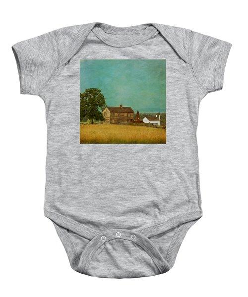 Henry House At Manassas Battlefield Park Baby Onesie