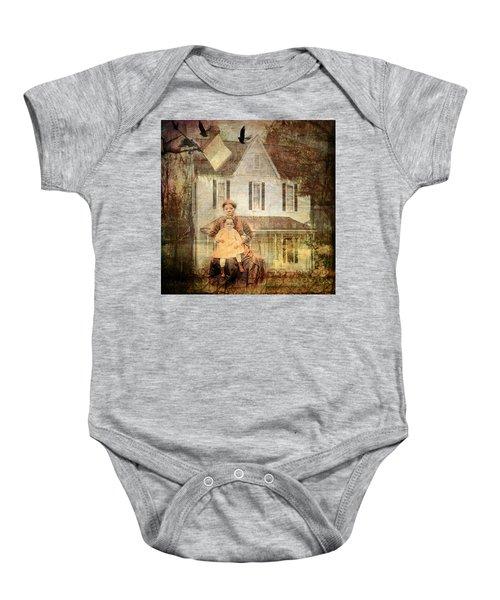 Her Memories Are Written Baby Onesie by Bellesouth Studio
