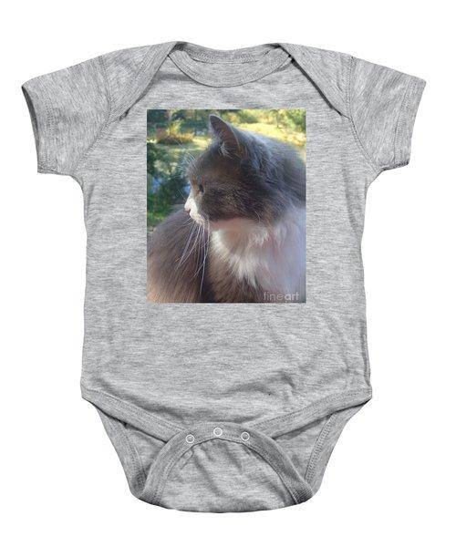 Here Kitty Baby Onesie