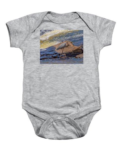 Heron Baby Onesie