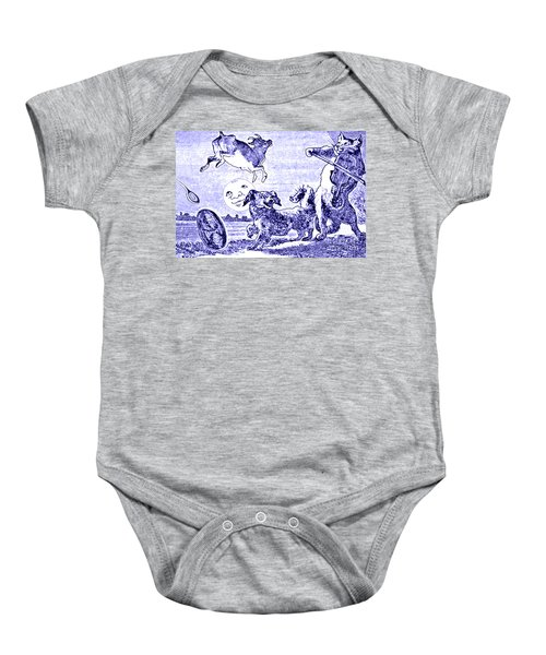 Hey Diddle Diddle The Cat And The Fiddle Nursery Rhyme Baby Onesie