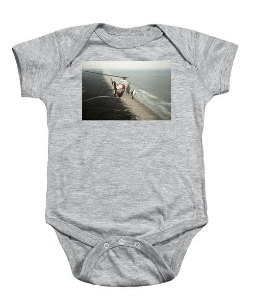 Hh-52a Beach Patrol Baby Onesie