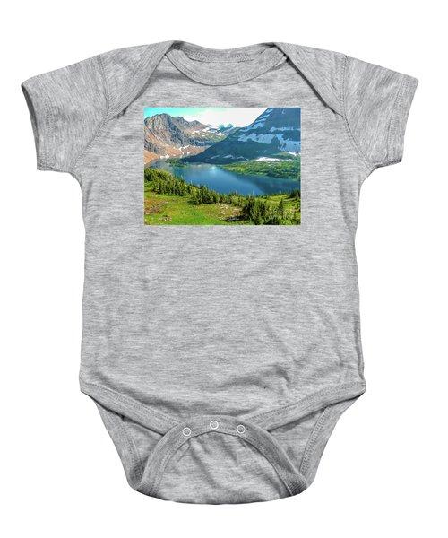 Hidden Lake Glacier National Park Baby Onesie