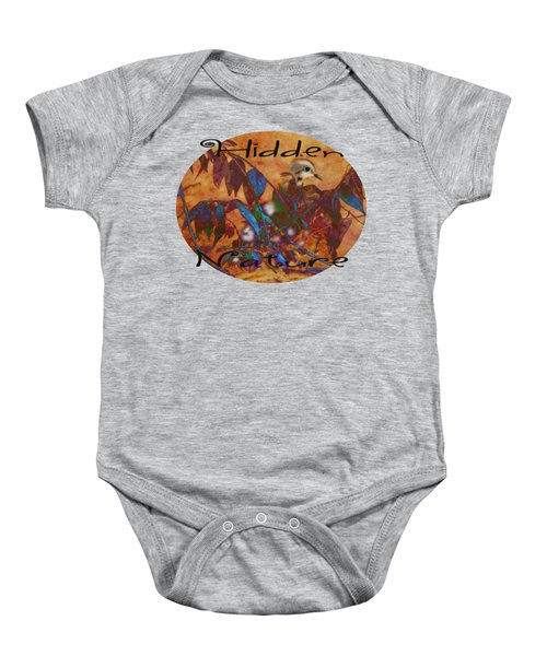Hidden Nature - Abstract Baby Onesie by Anita Faye