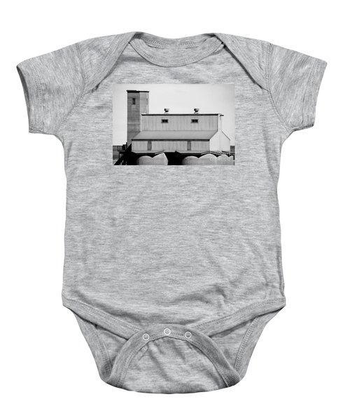 Baby Onesie featuring the photograph High Rise by Stephen Mitchell