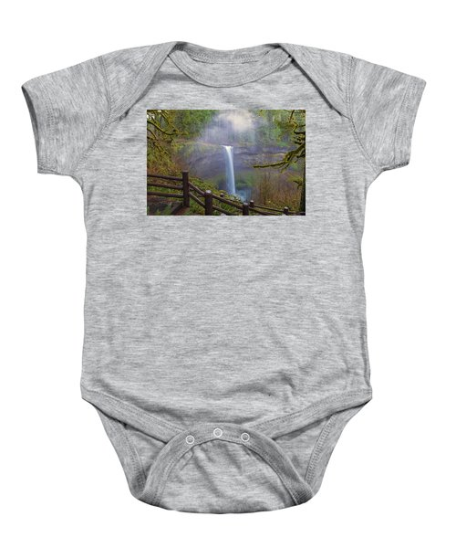 Hiking Trails At Silver Falls State Park Baby Onesie