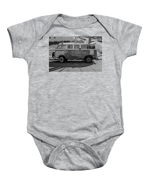 Hippie Van, San Francisco 1970's Baby Onesie