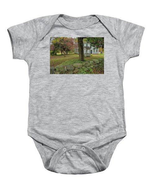 Historic Homestead Baby Onesie