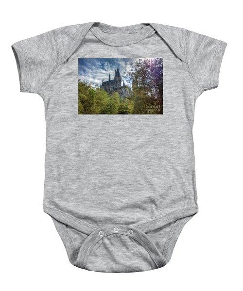 Hogwarts Castle Baby Onesie
