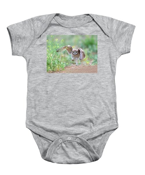 Hold On, I'm Comin' Baby Onesie