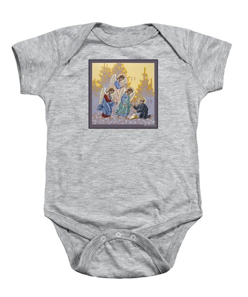 Holy Theologian Bernard Lonergan 122 Baby Onesie