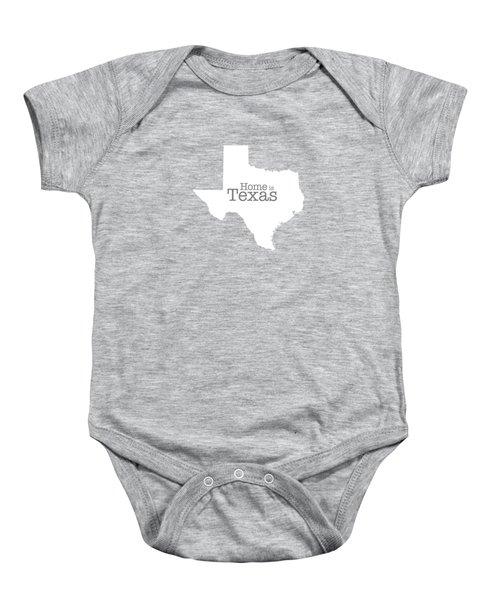 Home Is Texas Baby Onesie