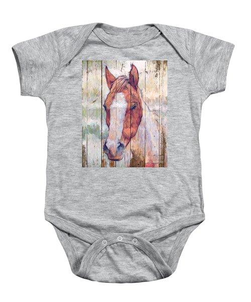 Horse 2 Baby Onesie