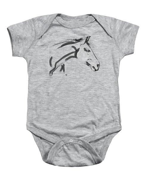 Horse - Lovely Baby Onesie