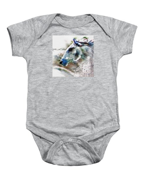 Horse Of Color Baby Onesie