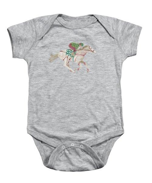 Horse Racer Baby Onesie