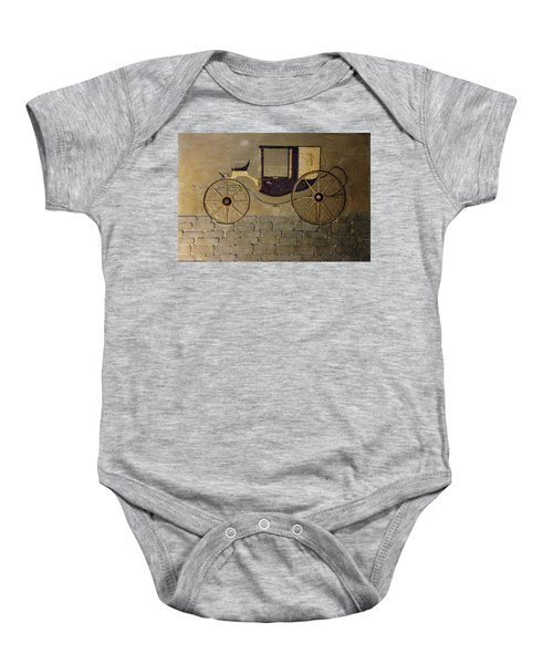 Horseless Carriage Baby Onesie