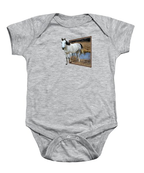 Horsing Around Baby Onesie