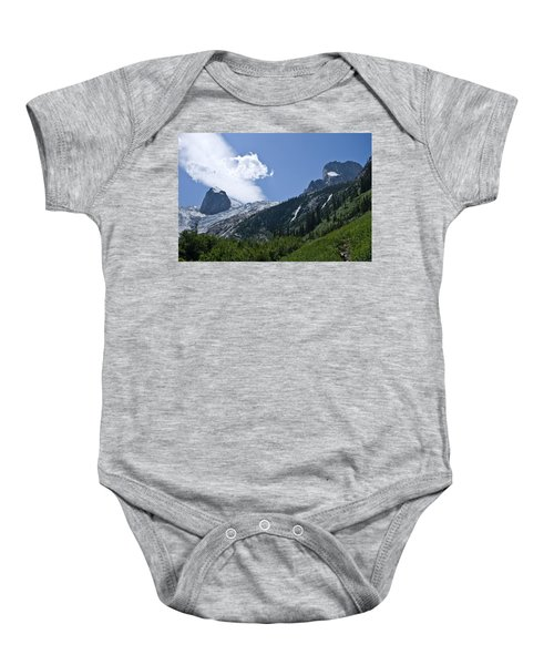 Hounds Tooth Baby Onesie