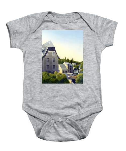 Houses At Murol Baby Onesie