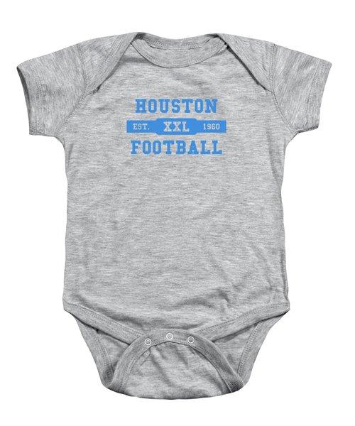 Houston Oilers Retro Shirt Baby Onesie