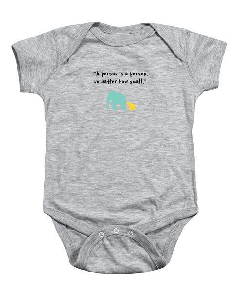 How Small Baby Onesie by Nancy Ingersoll