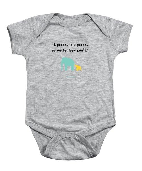 How Small Baby Onesie