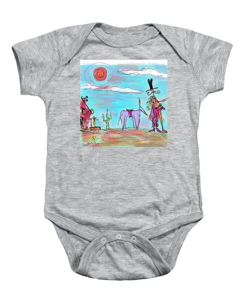 Howdy Pardner...the Frontier Awaits Baby Onesie
