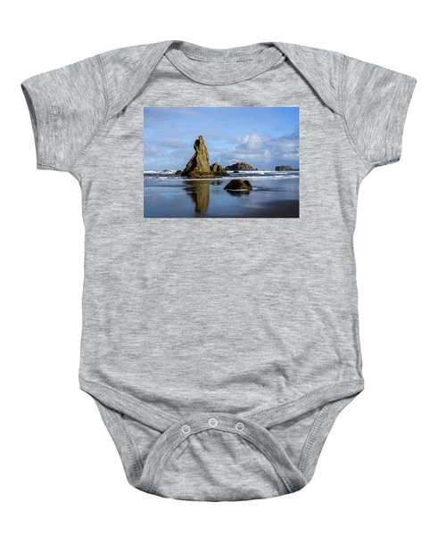 Howling Dog Baby Onesie