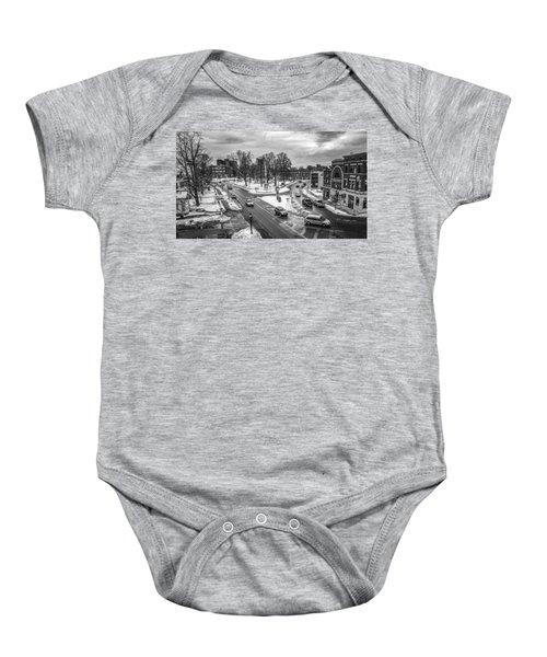 Hudson Falls Business District Baby Onesie