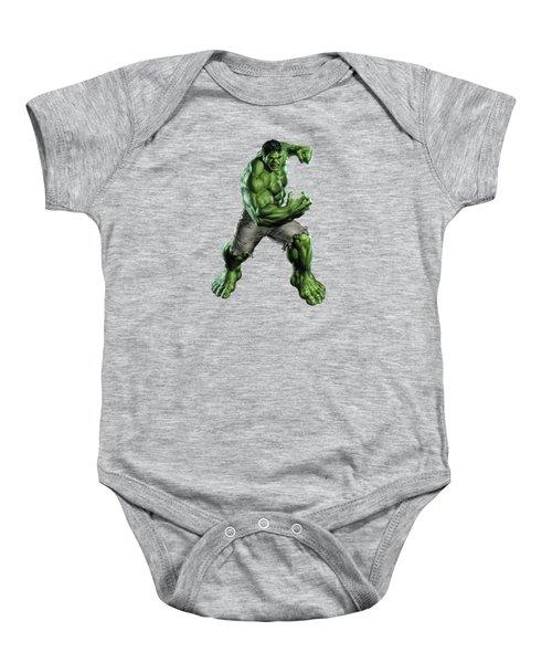 Hulk Splash Super Hero Series Baby Onesie