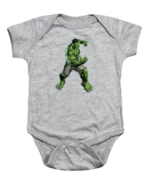 Hulk Splash Super Hero Series Baby Onesie
