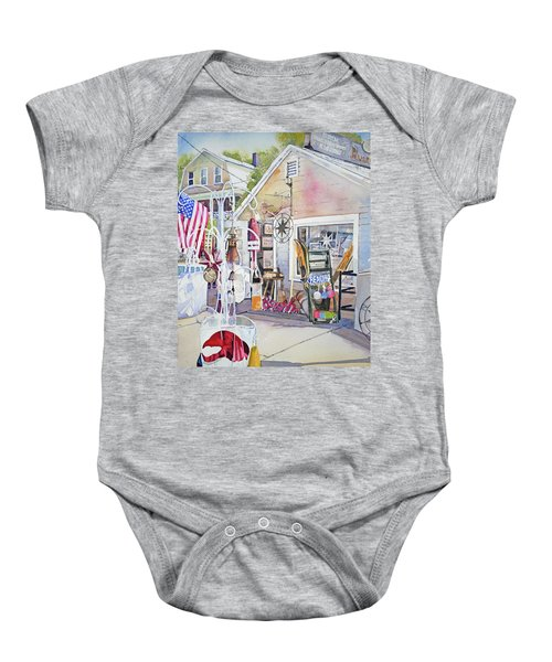 Hull Of A Shoppe Baby Onesie