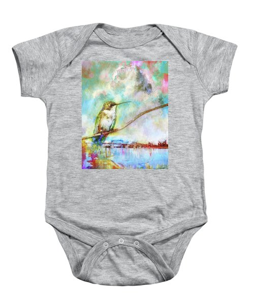 Hummingbird By The Chattanooga Riverfront Baby Onesie