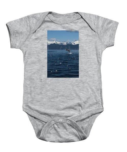 Humpback Whale Breach 3.1. Mp Baby Onesie