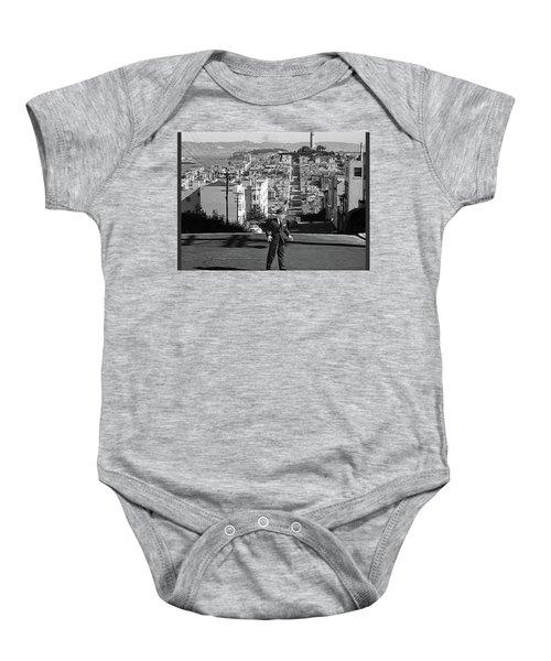 Humphrey Bogart Film Noir Dark Passage Telegraph Hill And Coit Tower San Francisco 1947 Baby Onesie