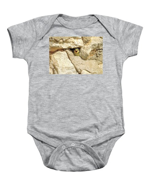 Hungry Chick Baby Onesie