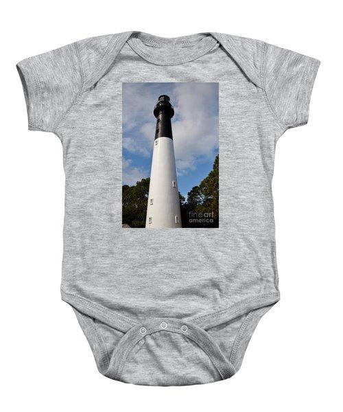 Hunting Island Lighthouse Baby Onesie