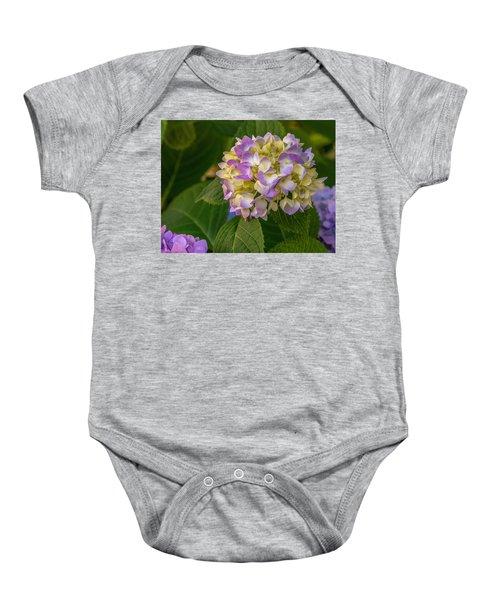 Hydrangea 2 Baby Onesie