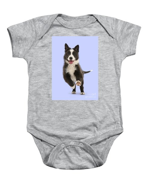 I Can Run All Day Baby Onesie